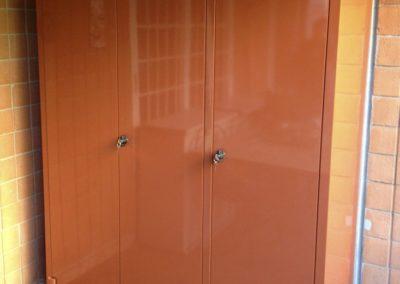 armadi in metallo da esterno roma